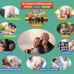 Ihre 18 Partner im Demenz Hilfenetzwerk