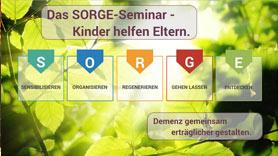 Das SORGE Seminar mit E-Learning Kursen für Demenz Kompetenz