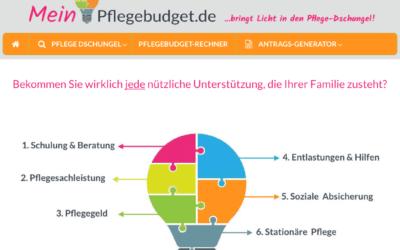 Neues Angebot: MeinPflegebudget.de