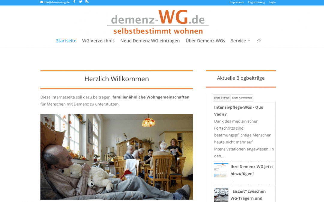 Suchen Sie eine Demenz-WG?